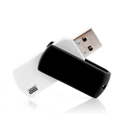 "Карта памяти USB Flash 3.0 16 Gb ""Colour/UCO3"" белый/черный"